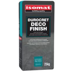 DUROCRET-DECO FINISH  mortar de ciment, cu granulaţie fină, pentru finisarea pardoselilor şi zidurilor