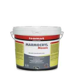 Isomat MARMOCRYL Mosaic cod 10 25Kg tencuiala acrilica pentru soclu decorativa, colorata, hidrofuga