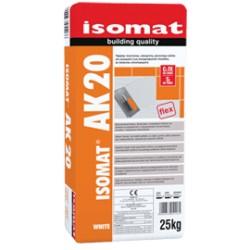 Isomat AK 20 gri 25Kg adeziv flexibil, de calitate superioara, aditivat cu rasini pentru toate tipurile de placi, C2 TΕ S1