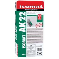 Isomat AK 22 gri 25Kg adeziv de inalta performanta, extra-flexibil, aditivat cu rasini pentru toate tipurile de placi, C2 TΕ S1
