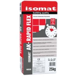 Isomat AK-Rapid Flex gri 25Kg adeziv cu rasini, flexibil, cu priza rapida, pentru placi, C2 FT S1