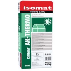 Isomat AK-Thermo alb 25Kg adeziv armat cu fibre pentru placi termoizolante, cu timp deschis de lipire mare