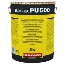 Isomat ISOFLEX-PU 500 alb 12Kg membrana hidroizolanta lichida, poliuretanica, monocomponenta, pentru terase