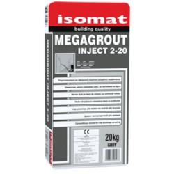 Isomat MEGAGROUT Inject 2-20 gri 20Kg mortar  pe baza de ciment cu contractie scazuta