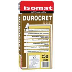 Isomat DUROCRET alb 25Kg mortar pe baza de ciment şi rasini, pentru reparatii