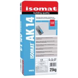 Isomat AK 14 alb 25Kg adeziv cu rasini pentru placi ceramice şi placi de granit, C1 TE