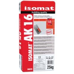 Isomat AK 16 alb 25Kg adeziv aditivat cu rasini, pentru placi ceramice, C2 TE