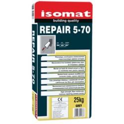 Isomat REPAIR 5-70 gri 25Kg mortar pe baza de ciment cu rasini, armat cu fibre, cu rezistenta ridicata