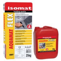 Isomat AQUAMAT-Flex gri 33Kg mortar hidroizolant flexibil, bicomponent