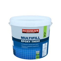 Isomat MULTIFILL-Epoxy Thixo alb 3Kg chit de rosturi si adeziv, epoxidic, bicomponent, pentru placi ceramice