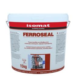 Isomat FERROSEAL 15Kg acoperire anticorosiva pe baza de ciment pentru armatura – punte de aderenta