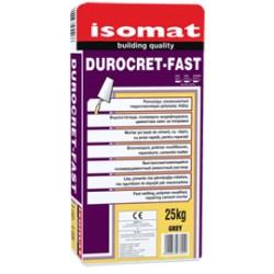 Isomat DUROCRET-Fast gri 25Kg mortar pe baza de ciment,cu priza rapida, pentru reparatii