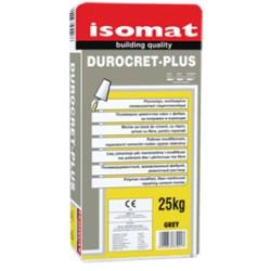 Isomat DUROCRET-Plus gri 25Kg mortar pe baza de ciment, cu rasini, armat cu fibre, pentru reparatii