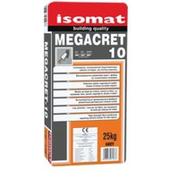 Isomat MEGACRET-10 gri 25Kg mortar armat cu fibre, cu rezistente ridicate, pentru reparatii in straturi subtiri