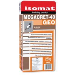 Isomat MEGACRET-40 Geo gri 25Kg geo-mortar pentru reparatii, cu rezistente mecanice mari, ecocompatibil