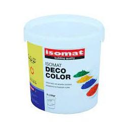 Isomat Deco Color red brown 0,25Kg pigment sub forma de pudra pentru colorarea mortarelor si a betonului