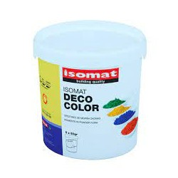 Isomat Deco Color orange 0,25Kg pigment sub forma de pudra pentru colorarea mortarelor si a betonului