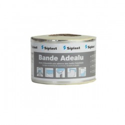 Siplast Bande Adealu 15Ommx10m banda de etansare adeziva cu folie de aluminiu