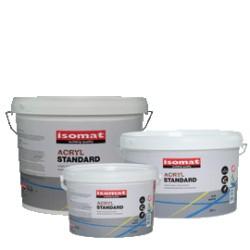 ISOMAT ACRYL STANDARD  vopsea lavabilă pentru exterior